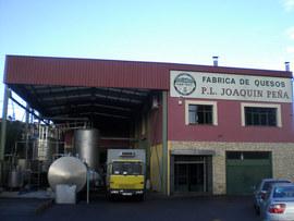Fábrica de quesos en Asturias